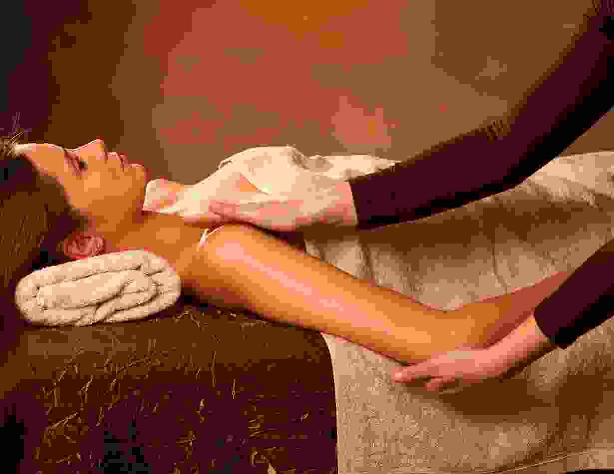 Meridian massage!